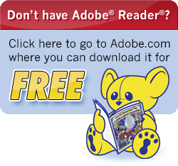Click here to go where you can download Adobe® Reader®